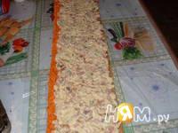 Приготовление салата Пенек: шаг 12