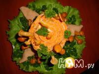 Приготовление салата Пенек: шаг 16