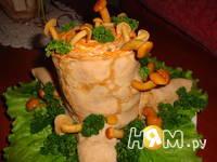 Приготовление салата Пенек: шаг 17