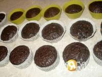 Приготовление шоколадно-банановых маффинов: шаг 4