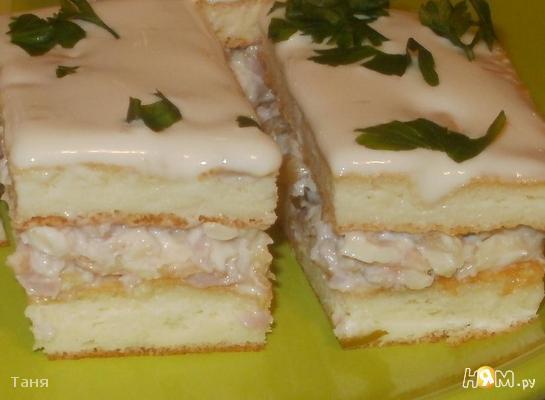 Рецепт Закусочные пирожные