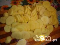 Приготовление картофельной запеканки: шаг 3