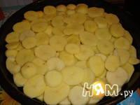 Приготовление картофельной запеканки: шаг 4