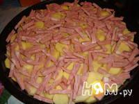 Приготовление картофельной запеканки: шаг 5