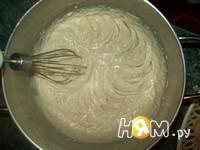 Приготовление наполеона с пломбиром и кремом: шаг 2