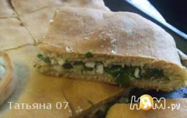 Пироги с зеленым луком и яйцом