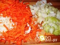 Приготовление рыбы под овощами: шаг 1