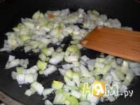 Приготовление рыбы под овощами: шаг 2
