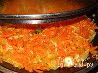 Приготовление рыбы под овощами: шаг 3