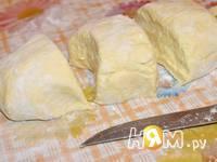 Приготовление ленивых вареников с творогом: шаг 7