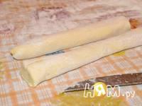 Приготовление ленивых вареников с творогом: шаг 8