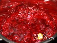 Приготовление пирога-решетки с малиной: шаг 4
