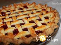 Приготовление пирога-решетки с малиной: шаг 21