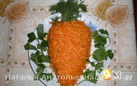 """Морковка по """"корейски"""""""
