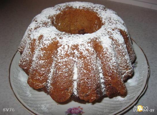 Кекс шоколадно-ореховый