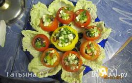 Фаршированные помидорчики