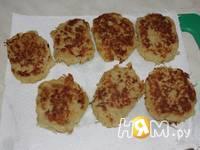 Приготовление картоплянок с рыбой: шаг 5