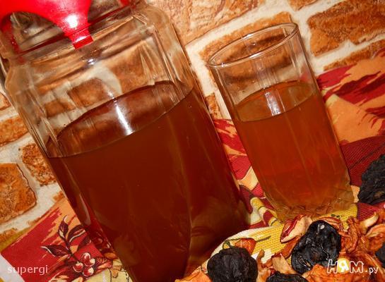 Рецепт Узвар яблочно-грушевый