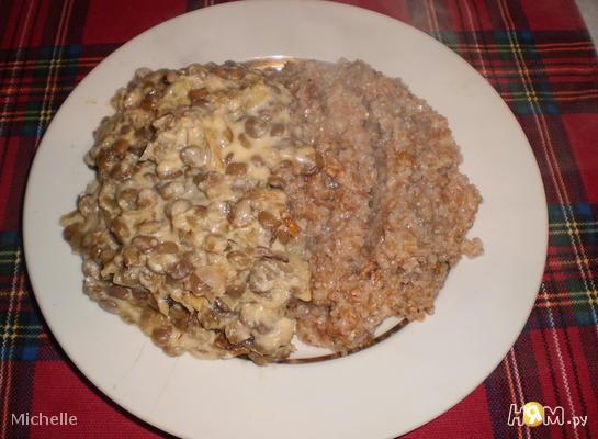 Рецепт Гарнир из чечевицы
