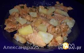 Свинина, жаренная по-гавайски