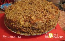 Морковно-имбирный торт