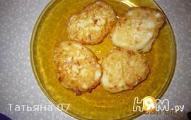 Оладьи из кабачков и сыра