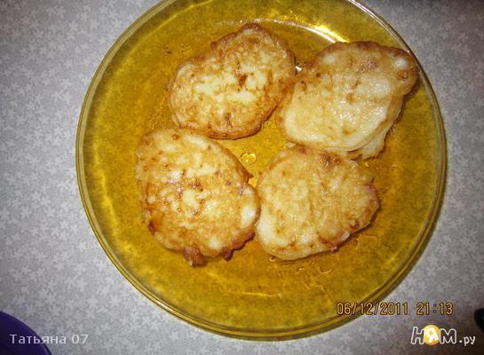 Рецепт Оладьи из кабачков и сыра