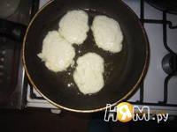 Приготовление оладушек из кабачков и сыра: шаг 5