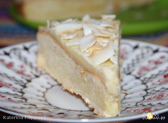 Лимонный торт с белым шоколадом