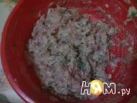 Приготовление куриных оладушек: шаг 4