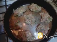 Приготовление куриных оладушек: шаг 5