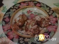 Приготовление куриных оладушек: шаг 6