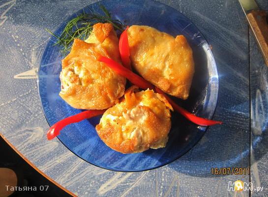 Рецепт Куриные конвертики