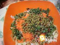 Приготовление салата Зимние витамины: шаг 4