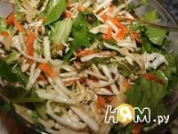 Приготовление салата Зимние витамины: шаг 6