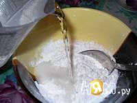 Приготовление клюквенного киселя: шаг 5