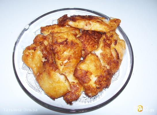 Рецепт Рыба в пикантном кляре