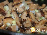 Приготовление зимнего супа с шиитаке: шаг 5