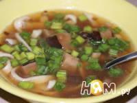 Приготовление зимнего супа с шиитаке: шаг 9