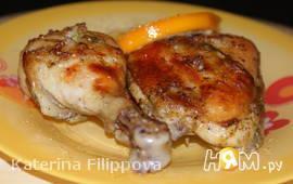 Куриные окорочка в апельсиновом маринаде