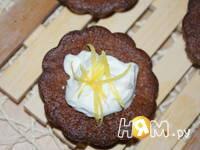 Приготовление шоколадно-апельсиновых маффин: шаг 8
