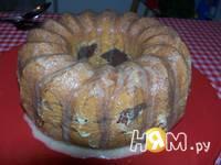 Приготовление кекса апельсиново-шоколадного: шаг 8
