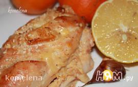 Курица в мандариновом маринаде с розмарином