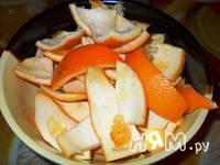 Приготовление апельсинового пряного желе с мандаринами: шаг 2