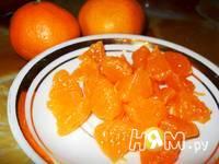 Приготовление апельсинового пряного желе с мандаринами: шаг 5