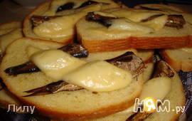 "Бутерброды ""Сырные шпроты"""