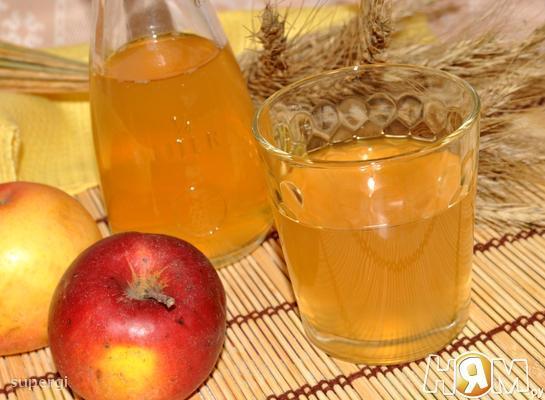 Рецепт Уксус яблочный