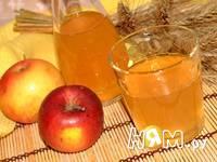 Приготовление уксуса яблочного: шаг 4