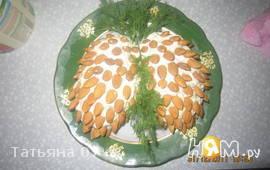 Салат шишки