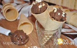 Мороженое шоколадно-кофейное